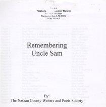 Image of Remembering Uncle Sam - Pamphlet