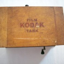 Image of Kodak film tank and pamphlets - Tank, Developing