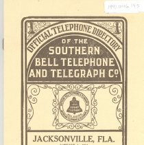 Image of Telephone Directory 1911