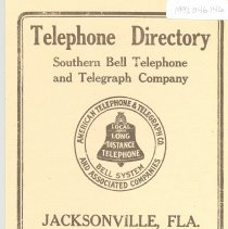 Image of Telephone Directory 1913