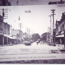 Image of Centre Street looking east 1908 - Print, Photographic
