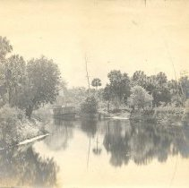 Image of River scene on the St Mary's River, Traders Hill ?? - Print, Photographic