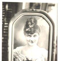 Image of Nancy Davis daughter of William Jones Davis - Print, Photographic