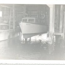 Image of Boat owned by George T Davis - Print, Photographic