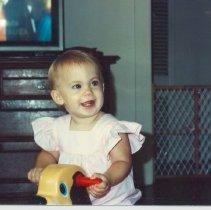 Image of Katherine Davis age 10.5 months, - Print, Photographic