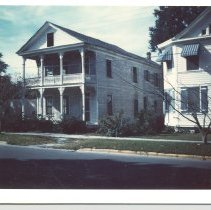 Image of Liza Brady's House on 6th Street. - Print, Photographic