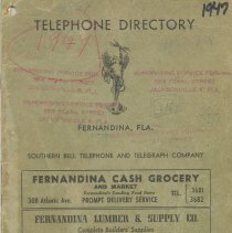 Image of Telephone Directory 1949