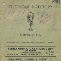 Image of Telephone Directory 1951