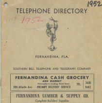 Image of Telephone Directory 1952