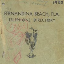 Image of Telephone Directory 1953