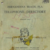 Image of Telephone Directory 1955