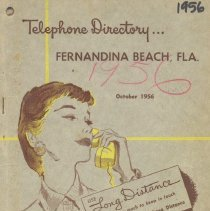Image of Telephone Directory 1956