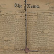 Image of The News. June 25.1908 - Newspaper