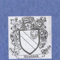 Image of Braddock:  listing of majority of descendants of John Braddock, Revolutionary Soldier - Pamphlet