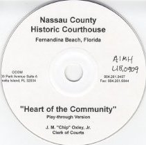 Image of Heart of the community--Nassau County Historic Courthouse - Videodisc, Digital
