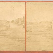 Image of Stereoview: Center Street - Stereoview