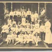 Image of Elizabeth Borden birthday party - Print, Photographic