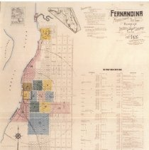 Image of 1926 Sanborn map of Fernandina - Map