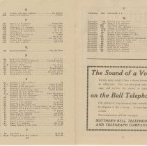 Image of 1911 Telephone Directory