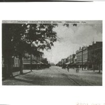 Image of Atlantic Avenue ( Centre Street ) Looking West. With negative. - Print, Photographic