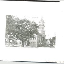 Image of Nassau County Court House. With negative - Print, Photographic