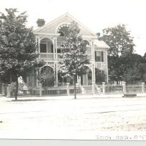 Image of Swann House, South 6th and Centre Street.  - Print, Photographic