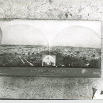 Image of Camp Amelia 1898 Spanish-American War. With negative - Print, Photographic