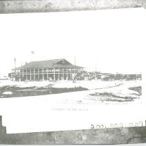 Image of Pavilion at the beach - Print, Photographic