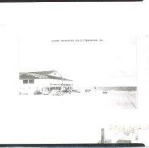 Image of Casino on the beach. - Print, Photographic