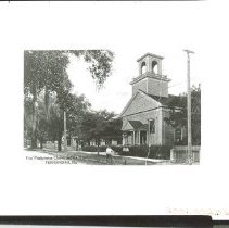 Image of First Presbyterian Church and 6th Street - Print, Photographic