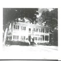Image of The Palmer House, now the Oxley-Heard Funeral Home.  - Print, Photographic
