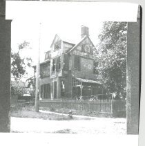 Image of The Finn House, southwest corner, 9th and Centre Streets. - Print, Photographic