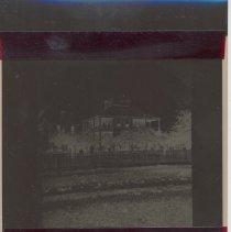 Image of Samuel T Riddell's home was located on North 5th Street - Negative, Film