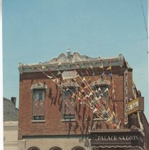 Image of The Palace Saloon - Postcard
