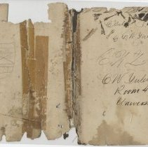 Image of Composition notebook of C. W. Yulee