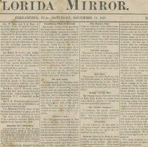 Image of The Florida Mirror Volume One  - Newspaper