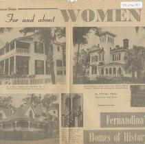 Image of Fernandina's Homes of History - Newspaper