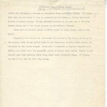 Image of Historical Tour--Amelia Island - Manuscript