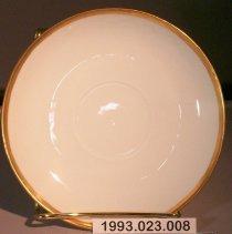 Image of Edith Haile Lynn's Saucer. - Saucer