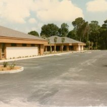 Image of Steger Drug Store and Building 1985 - Print, Photographic