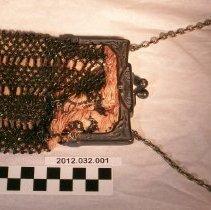 Image of Black Beaded Evening Bag - Bag, Evening