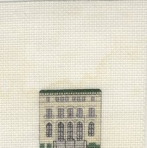 Image of U. S. Post Office - Cross-Stitch