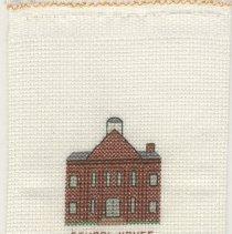 Image of School House - Cross-Stitch