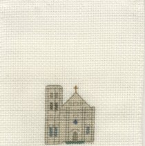 Image of St. Michael's Church - Cross-Stitch