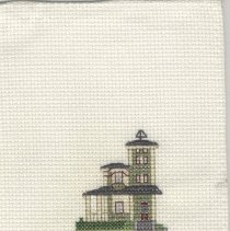 Image of Hirth House - Cross-Stitch