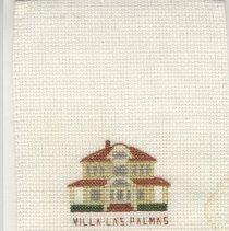 Image of Villa Las Palmas - Cross-Stitch