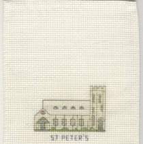 Image of St. Peter's Church - Cross-Stitch