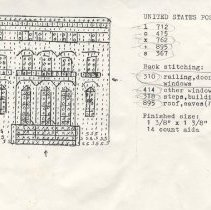 Image of Templates for counted cross-stitich needlework - Cross-Stitch