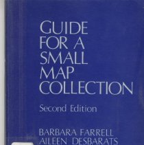 Image of Guide for A Small Map Collection - Book