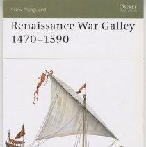Image of Renaissance War Galley 1470-1590 - Book